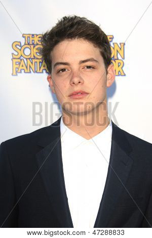 BURBANK - JUN 26: Israel Broussard at the 39th Annual Saturn Awards held at Castaways on June 26, 2013 in Burbank, California