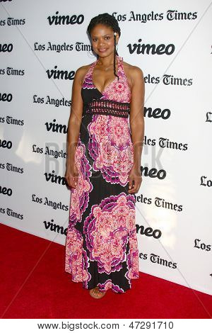 LOS ANGELES - JUN 26:  Kimberly Elise arrives at the