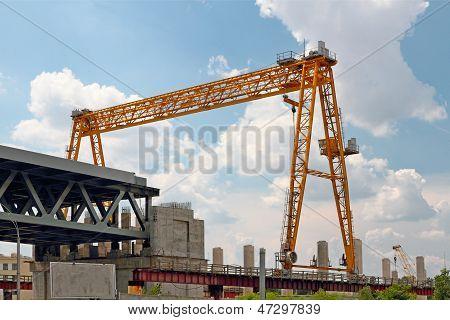 Construction Of A Bridge