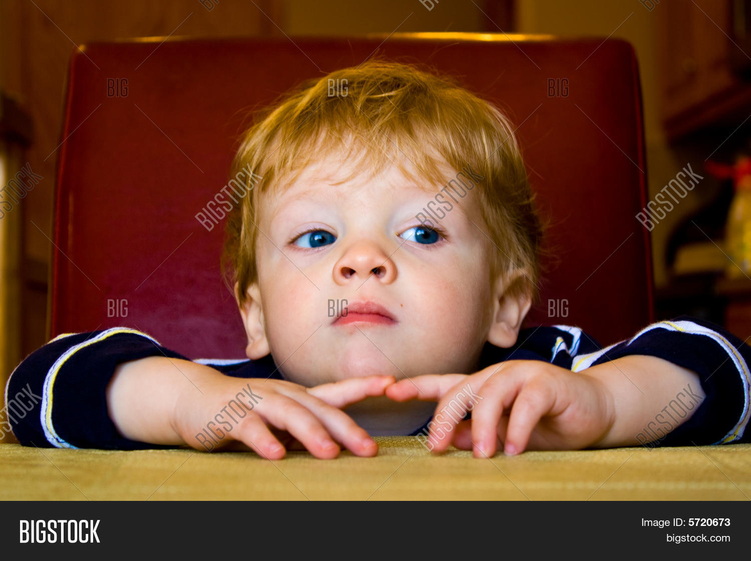 cute kid patiently image & photo (free trial) | bigstock