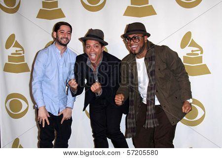 Bruno Mars at the  Grammy Nominations Concert Live, Club Nokia, Los Angeles, CA. 12-01-10
