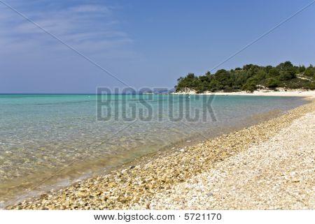 Beach at Chalkidiki, Greece (kalogria area)