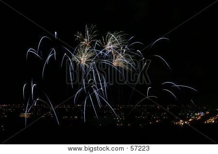 Fireworks In The Sky