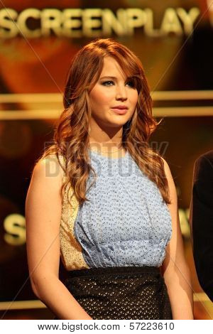 Jennifer Lawrence at the 84th Academy Awards Nominations Announcement, Academy of Motion Picture Arts and Sciences, Los Angeles, CA 01-24-12