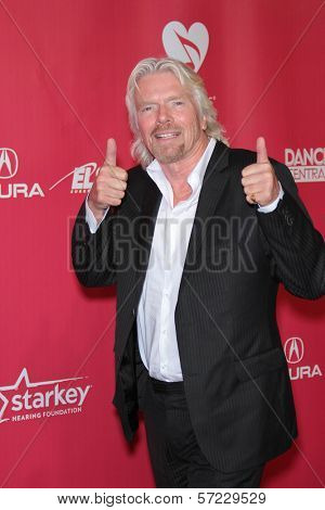 Richard Branson at the 2012 MusiCares Person Of The Year honoring Paul McCartney, Los Angeles Convention Center, Los Angeles, CA 02-10-12