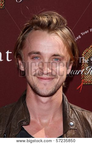 Tom Felton at the John Varvatos 9th Annual Stuart House Benefit, John Varvatos Boutique, West Hollywood, CA 03-11-12
