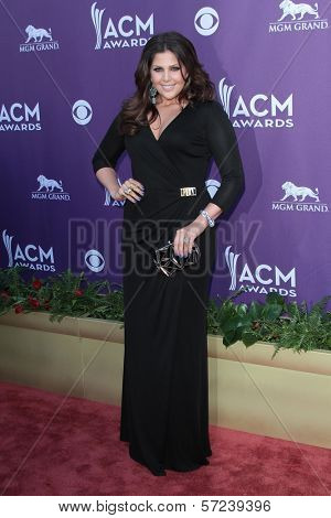 Hillary Scott at the 47th Academy Of Country Music Awards Arrivals, MGM Grand, Las Vegas, NV 04-01-12