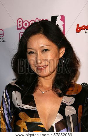 Yumi Yoshiyuki at the Boobs and Blood International Film Festival Opening Night, New Beverly Cinema, Los Angeles, CA. 09-24-10