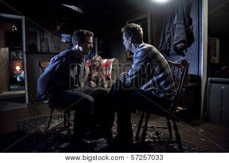 Ryan Honey, Jennifer Blanc and Michael Biehn On the Set of