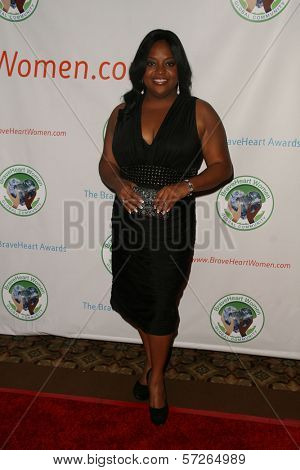 Sherri Shepherd at the 2010 BraveHeart Awards, Hyatt Regency Century Plaza Hotel, Century City, CA.  10-09-10