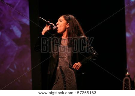 Sussan Deyhim  at the 2010 BraveHeart Awards, Hyatt Regency Century Plaza Hotel, Century City, CA.  10-09-10