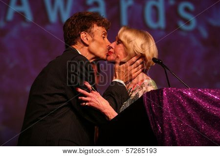 Paul Ryan and Tippi Hedren at the 2010 BraveHeart Awards, Hyatt Regency Century Plaza Hotel, Century City, CA.  10-09-10