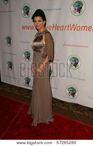Ellie Drake  at the 2010 BraveHeart Awards, Hyatt Regency Century Plaza Hotel, Century City, CA.  10-09-10