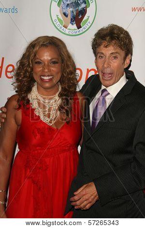 Rolonda Watts and Paul Ryan at the 2010 BraveHeart Awards, Hyatt Regency Century Plaza Hotel, Century City, CA.  10-09-10
