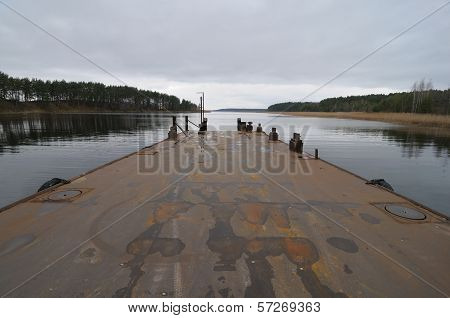 Old Pier On The Lake