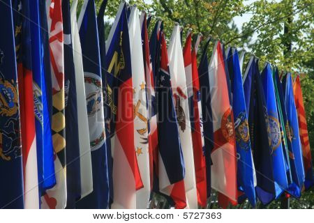 US Army Unit Flags