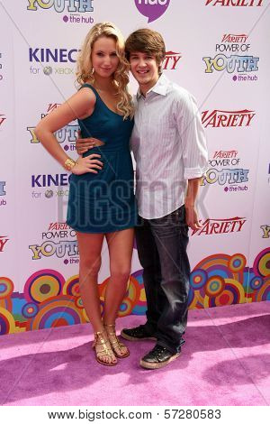 Molly McCook and Devon Werkheiser at Variety's 4th Annual Power Of Youth Event, Paramount Studios, Hollywood, CA. 10-24-10