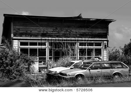 Abandoned Wrecked Automobiles