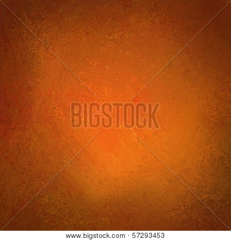 orange background with black vignette border