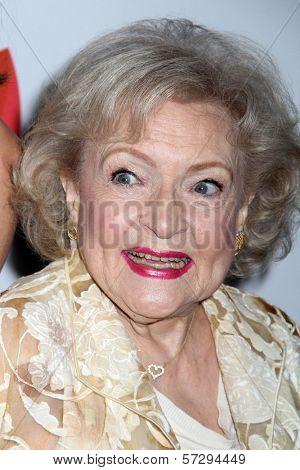 Betty White at the 23rd Annual GLAAD Media Awards, Westin Bonaventure Hotel, Los Angeles, CA 04-21-12