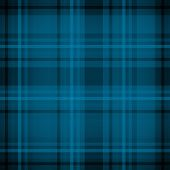 Blue plaid fabric pattern background or texture poster