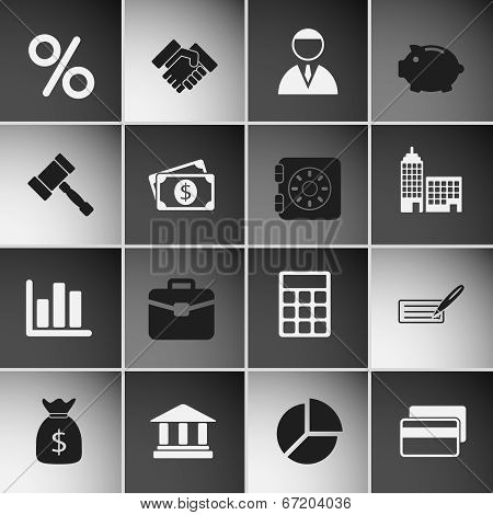 Business Icons Set Vol 2