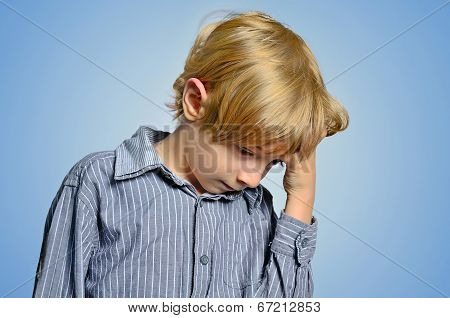 Isolated Young Boy