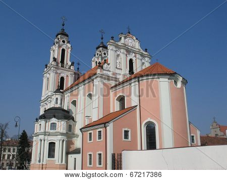 St. Catherine's Church In Vilnius