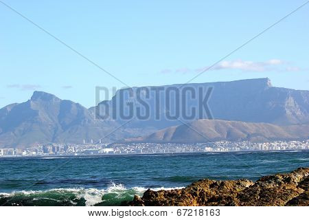 Table Mountain From Mandela's Eyes