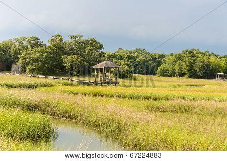 Gazebo in the Marsh