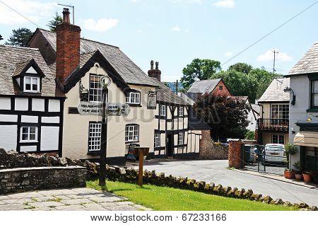 Village centre, Weobley.