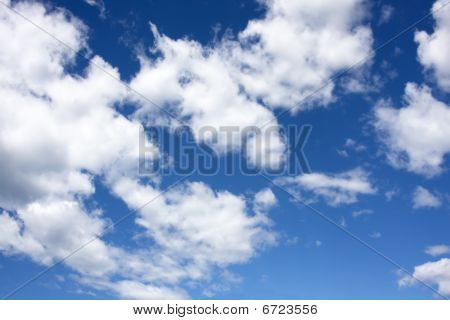 White Cloud Sky