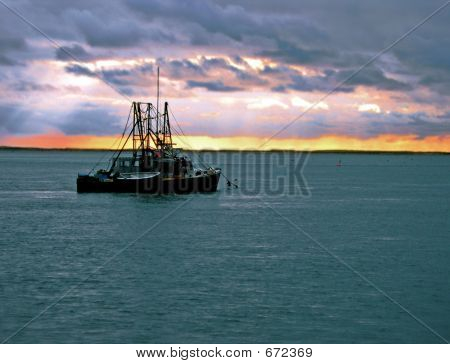 New England Fishing Boat