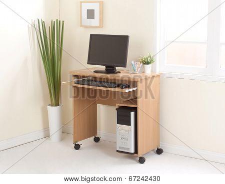 Desktop computer with cpu