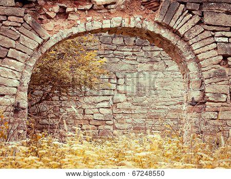 Old Brick Archway