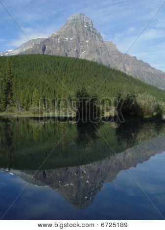 Mount Chephren Reflection
