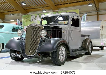 Chevrolet Pickup 1936 Vintage Car In A Show