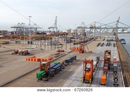 Port Of Rotterdam