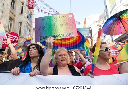 Trans Pride March In Istanbul