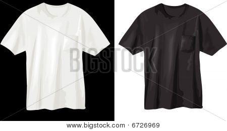 t-shirt design template - vector illustration