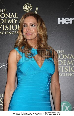 LOS ANGELES - JUN 22:  Lili Estefan at the 2014 Daytime Emmy Awards Arrivals at the Beverly Hilton Hotel on June 22, 2014 in Beverly Hills, CA