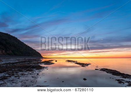 Ocean Beach At The Crack Of Dawn