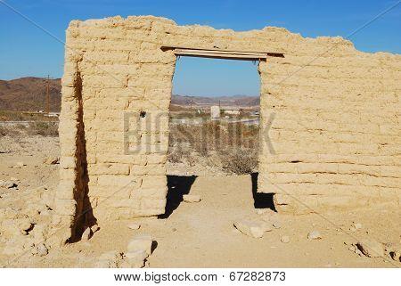 Ruins at Terlingua