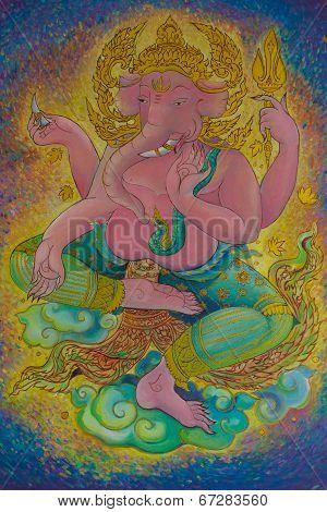 Ganesha, God Of Hindu