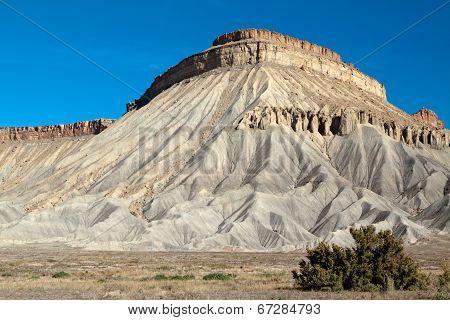 Mt. Garfield in western Colorado