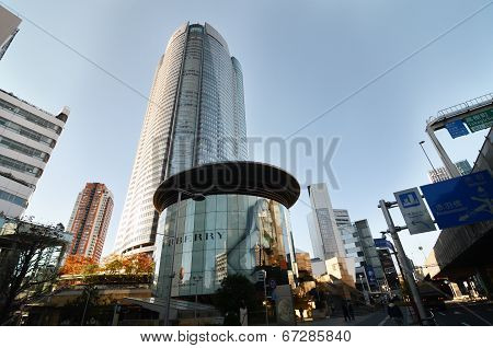 Tokyo, Japan - November 23: People Visit The  Mori Tower In Roppongi Hills