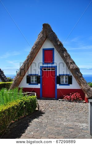 Typical house at Madeira