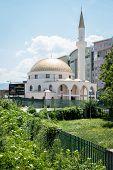 Temple Mosque Omer Ibn El-Hattab In Sarajevo poster