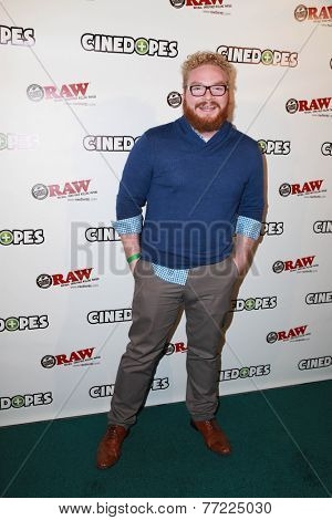 LOS ANGELES - NOV 18:  Evan Weinstein at the CineDopes Web Series Premiere And Launch Party at the Busby's East on November 18, 2014 in Los Angeles, CA