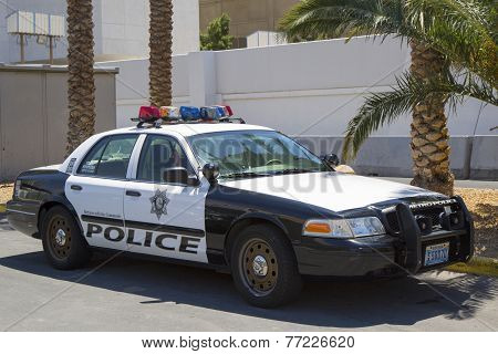 Las Vegas Metropolitan Police Department car